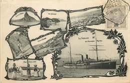 TRANSPORTS  LA CORDILLIERE Des Méssageries Maritimes - Steamers