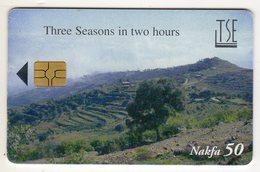 ERYTHREE Ref MV Cards : ERI-9 50NAF Année 2003 - Eritrea