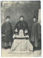 CPM CHINE - GRAND LAMA ET DEUX ACOLYTES, PEKIN 1867 - China