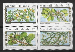 MARSHALL ISLANDS 1985 FLOWERS  MNH - Altri