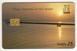 ERYTHREE Ref MV Cards :TSE ERI-8 25NAF Année 2003 - Eritrea