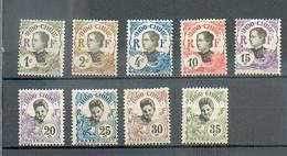 Indo 622 - YT 41 à 43 - 45 à 50 * - Indochina (1889-1945)