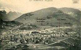 ALBERTVILLE VUE GENERALE - Albertville