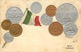 MEXIQUE  Monnaies Mexicaine - Cartes Postales