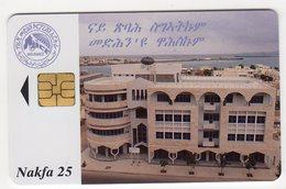 ERYTHREE Ref MV Cards :TSE ERI-4 25NAF Année 2000 - Eritrea