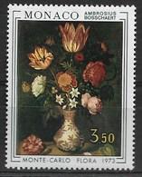 MONACO 1973 FLOWERS  MNH - Altri