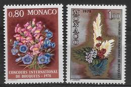 MONACO 1977 FLOWERS  MNH - Altri