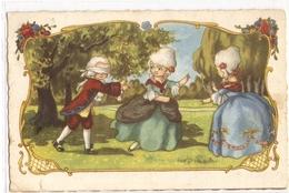 K 1690 OLD FANTASY  POSTCARD  , CHILDREN  , FINE ART , GREETINGS , - Sin Clasificación