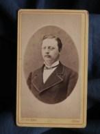Photo CDV Stevenin à Sedan  Portrait Homme  CA 1880-85 - L493 - Old (before 1900)