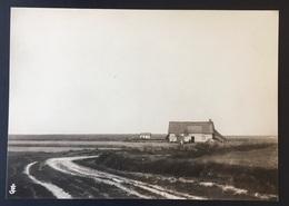 "PEER - 20,5x14,5 Cm - ORIGINELE FOTO - ""De Oude Kempen"" - 1902 - Edmond JAMINÉ - Plaggenhutten - Leemen Huisjes - Otros"