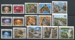 Simbabwe Zimbabwe Mi# 227-41  Postfrisch/MNH - Stones, Fauna, Waterfalls - Zimbabwe (1980-...)