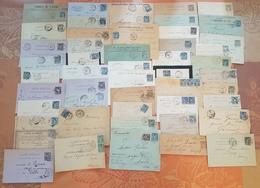 France - Lot De 100 Lettres - TYPE SAGE  - DEPART 1 EURO - Marcophilie (Lettres)