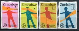 Simbabwe Zimbabwe Mi# 251-4 Postfrisch/MNH - Disabled Year - Zimbabwe (1980-...)
