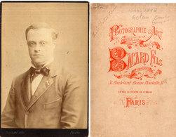 Photo Bacard - Paris - Acteur Henri Dupont-Vernon  (1844-1898) (Divers 32) - Old (before 1900)