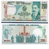 Billet Uruguay 200 Pesos - Uruguay