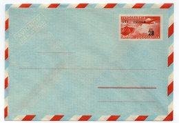 1950s  YUGOSLAVIA, STT-VUJA, AIRMAIL, 28 DIN STAMP INPRINTED STATIONERY COVER, MINT - Postal Stationery