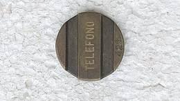 GETTONE FICHA TOKEN JETON Phone Token Argentina Entel #4 - Casino