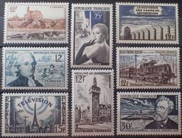R1615/1959 - 1955 - N°1019 à 1026 NEUFS**- Cote (2020) : 19,90 € ➤➤➤ PRIX DE DEPART A 15% DE LA COTE CATALOGUE - Frankreich
