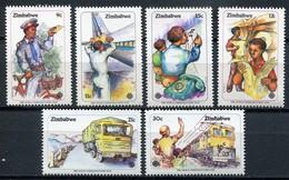 Simbabwe Zimbabwe Mi# 280-5 Postfrisch/MNH - World Communication Year - Zimbabwe (1980-...)