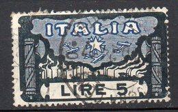 1923 Regno Marcia Su Roma N. 146  Alto Valore Timbrato Used - 1900-44 Victor Emmanuel III.