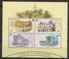Singapore - 1999 - Bloc Feuillet BF N°Yv. 71 - Postal Landmarks - Neuf Luxe ** / MNH / Postfrisch - Singapur (1959-...)