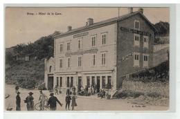 54 BRIEY HOTEL DE LA GARE CRISTENACK - Briey