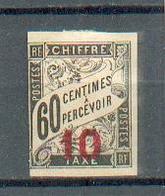 Indo 625 - YT Taxe 1 (*) - Marge Courte Coté Gauche - Indochine (1889-1945)