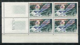 17416  T.A.A.F  N°1** 15F Timbre De Madagascar (324) De 1954 Surchargé En Rouge   C.D Du 9.5. 55     TB - Neufs