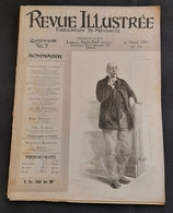 Rivista Revue Illustrée - V. Cherbuliez - N. 79 - 15 Mars 1889 - Altri
