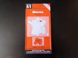 Carte Marne, Champagne- Ardenne - Maps/Atlas