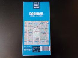 Carte Dormans - Maps/Atlas