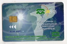 MOZAMBIQUE REF MV CARDS MZB-15 Date 2001 TELECOM - Mozambico
