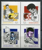 Simbabwe Zimbabwe Mi# 356-9 Postfrisch/MNH - UNO - Zimbabwe (1980-...)