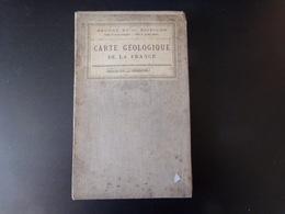 Carte Géologique De La France, Feuille 50 Chalons, Entoilée, 1880 - Cartes