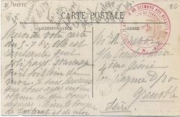 Cachet Militaire : 76 DIEPPE - Marcophilie (Lettres)