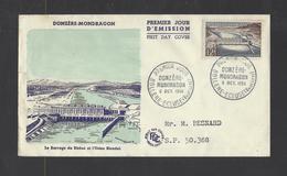 FRANCE.  YT  FDC  N° 1078  Oblitération  1er Jour  6-10-56 - 1950-1959