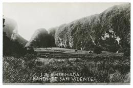 CARTE PHOTO EQUATEUR - LA ENSENADA - BANOS DE SAN VICENTE - Equateur