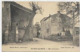 04. REVEST DE BION.  RUE PRINCIPALE - Francia