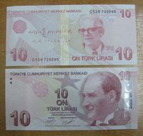 AC - TURKEY -  9th EMISSION 10  TL C UNCIRCULATED - Turkey