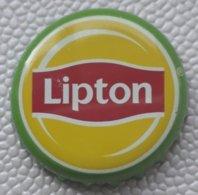 (LUXPT) - BE-P 12 - Capsule Bouteille Soda Lipton Thé - Belgique-Belgié - Soda
