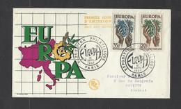 FRANCE.  YT  FDC   N° 1122/1123  Oblitération  1er Jour  16-9-57 - 1950-1959