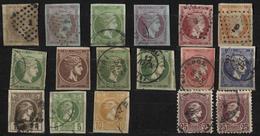 Griechenland, 1862-86, Hermeskopf, Gestplt., Teils Falzrest, Restposten - 1861-86 Hermes, Gross