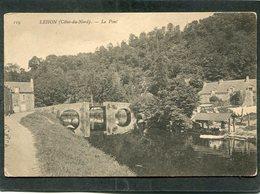 CPA - LEHON - Le Pont - Lavoir, Lavandière - Autres Communes