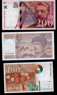LOT  DE  5 BILLETS  FRANCAIS - Coins & Banknotes