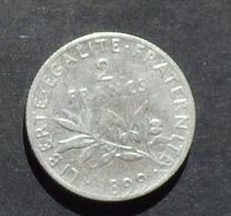 PIECES DE 2 FRANCS - 1899 - I. 2 Francs