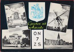 QSL Card Amateur Radio Funkkarte 1982 Aarsele  Tielt Willy Lievrouw - Radio Amateur