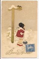 K 1702 OLD FANTASY  POSTCARD  , CHILDREN  , FINE ART , GREETINGS , - Enfants