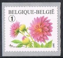 Année 2007 -  R111  -  COB 3684** -  Timbre De Rouleau -  Dalhia - Cote  2,30€ - Coil Stamps