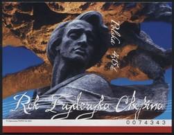 Poland 2010 Mi Bl. 192B Fryderyk Chopin Year, Musician, Music, Artist MNH** - Ongebruikt