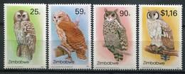 Simbabwe Zimbabwe Mi# 500-3 Postfrisch/MNH - Fauna Birds - Zimbabwe (1980-...)
